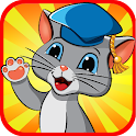 Smart Kitty - educational game icon