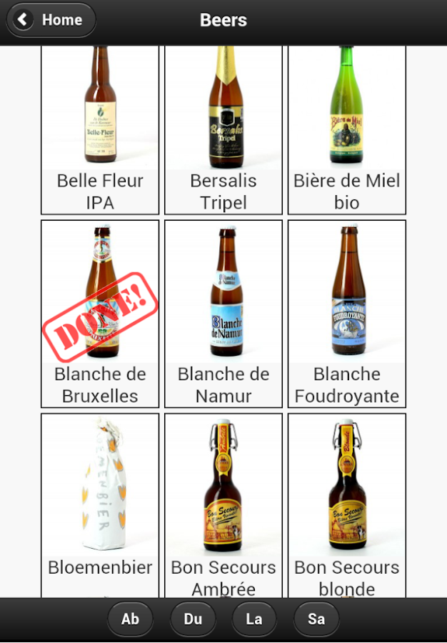 Beer Passport (Belgium) - screenshot