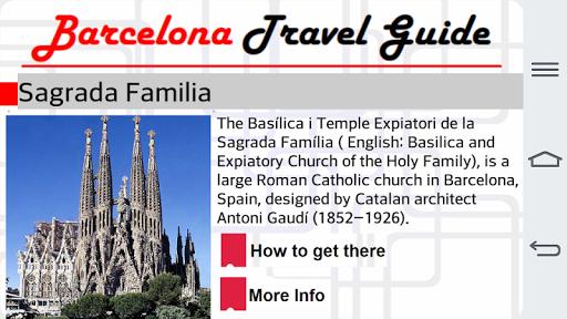 Barcelona Travel Guide 1.0 screenshots 7