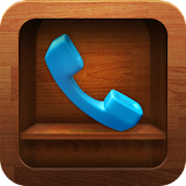 exDialer Wood Shelf Theme