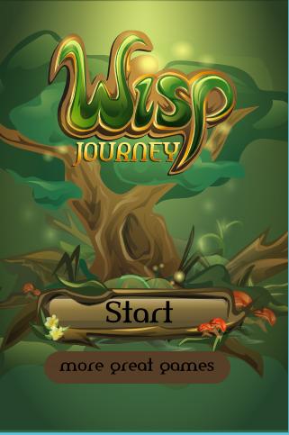 Wisp Journey Runner Game