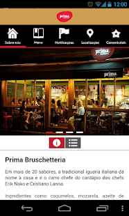 Prima Bruschetteria- screenshot thumbnail