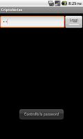Screenshot of CriptoNotes
