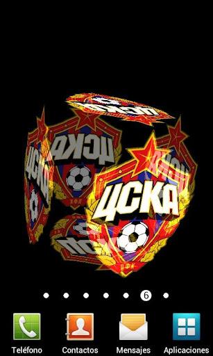 3D CSKA Moscow Live Wallpaper