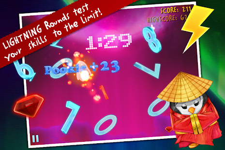 Ice Math Ninja - PREMIUM Screenshot
