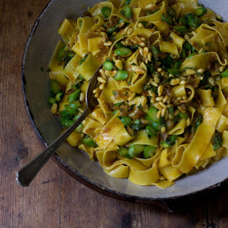 Pappardelle with Spiced Butter.