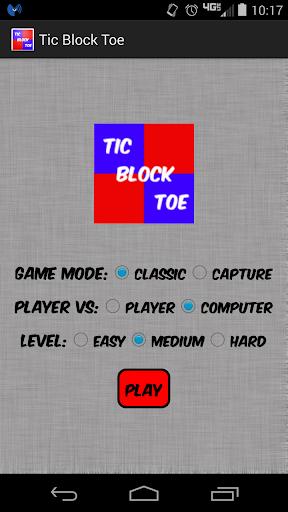 Tic Block Toe