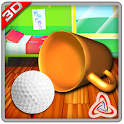Indoor Room Golf 3D icon