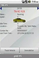 Screenshot of TRR VTS