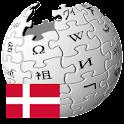 Danske Wikipedia logo