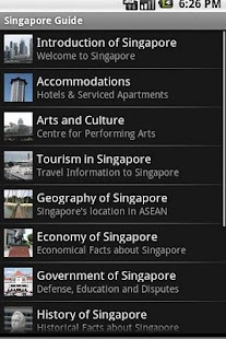 Singapore Travel Guide - screenshot thumbnail