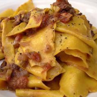 Beef Fillet With Pappardelle
