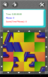 SquareRoll - Alphabet - screenshot thumbnail