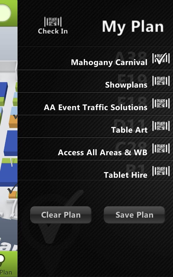Showplanner - screenshot