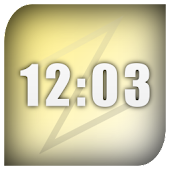 vzClock: A digial clock widget