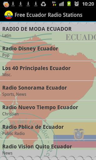 Free Ecuador Radio Stations