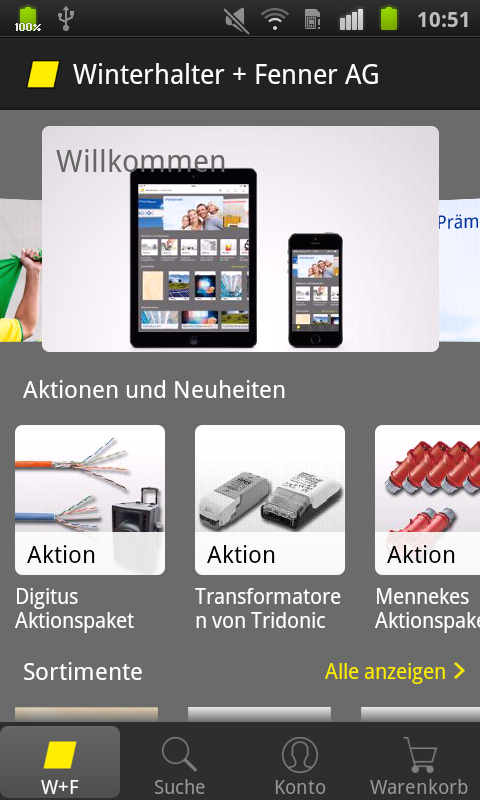 Winterhalter + Fenner AG- screenshot