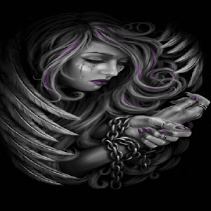 Sad Angel Live Wallpaper Lwp Background Theme Android