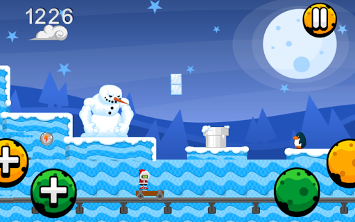 Winter Scary Run Top Best Game