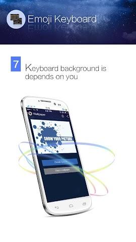 android Kika Emoji Keyboard - GIF Spaß Screenshot 6