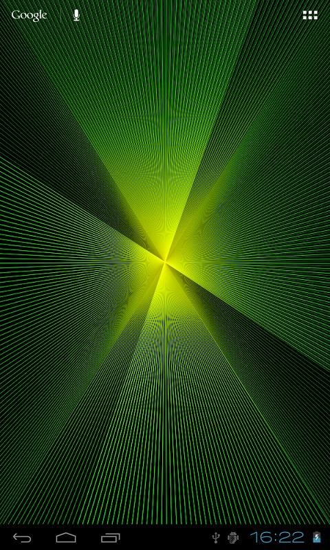 Abstract Live Wallpaper Lite - screenshot