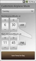 Screenshot of Airplane Mode Control