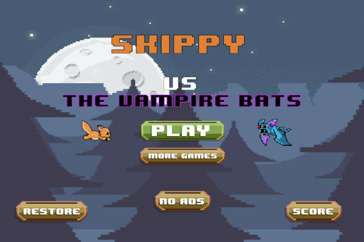 Skippy Vs The Vampire Bats
