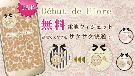 Debut de Fiore Cute Battery☆