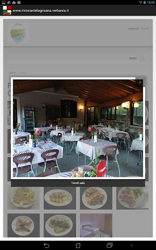 【免費生活App】Albergo Ristorante La Grisana-APP點子