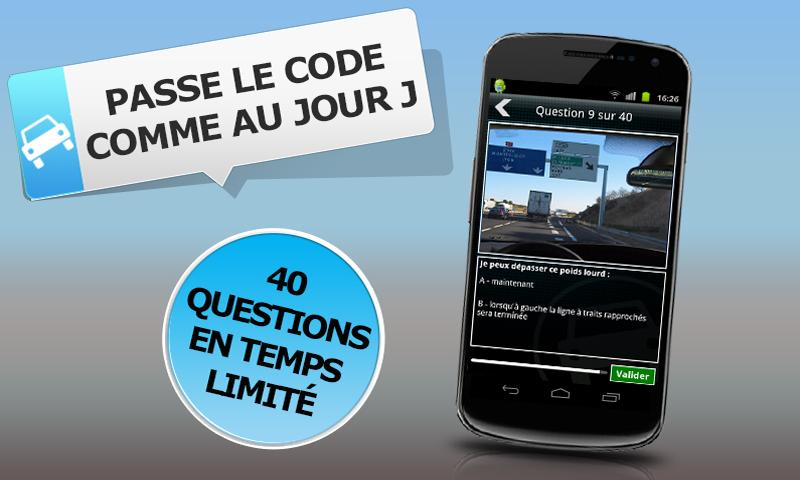 Code de la Route à la carte - screenshot