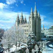 LDS (Mormon) Temple Wallpaper