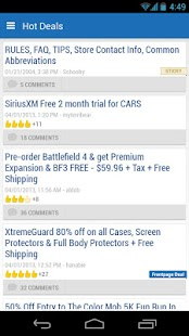 Slickdeals - Deals, Coupons - screenshot thumbnail