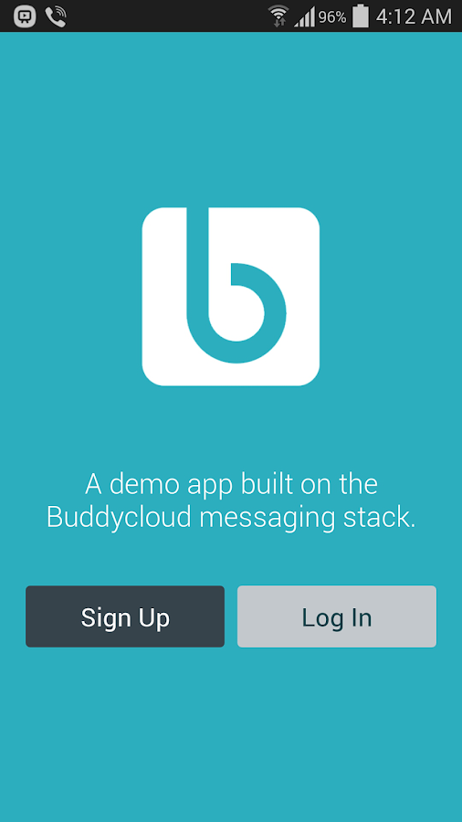 Buddycloud Demo App- screenshot