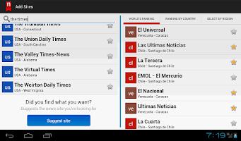 Screenshot of Neonews Honduras