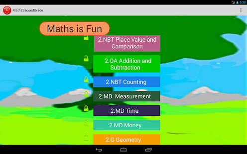 Second Grade Mathematik Guru-L – Apps bei Google Play