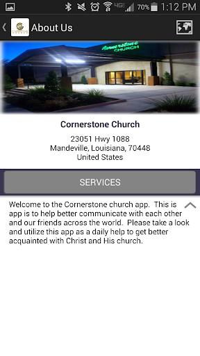 【免費生活App】The Cornerstone Church App-APP點子