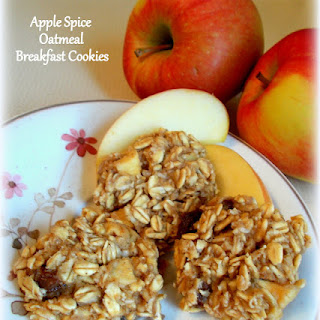 Apple Spice Oatmeal Breakfast Cookies Recipe