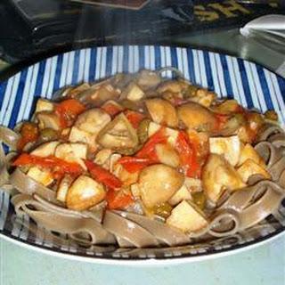 Porcini Mushroom Pasta.