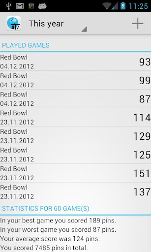 Open Bowling Score Tracker