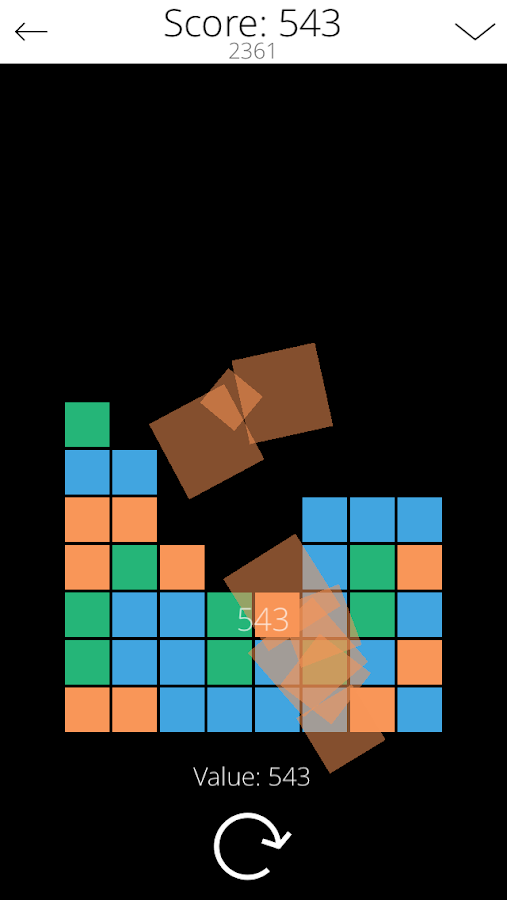 Stack Buster (blocks)- screenshot