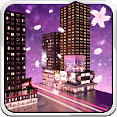 City Live Wallpaper - blossom
