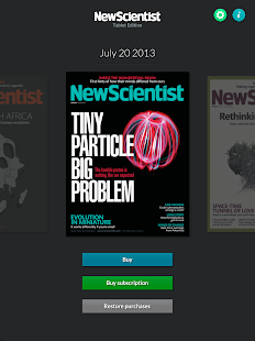 New Scientist - screenshot thumbnail
