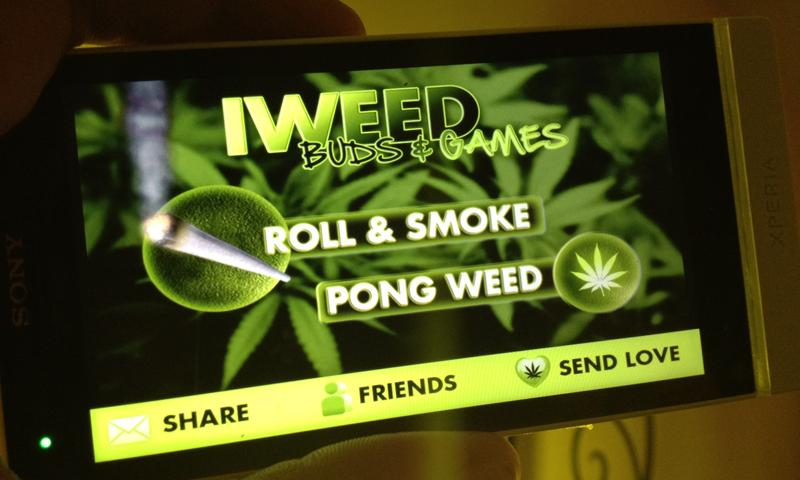 iWeed - roll a spliff- screenshot