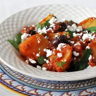 Greek Potato and Olive Stew