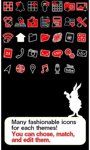 Cute Theme-Cards in Wonderland 1.0 Windows u7528 4