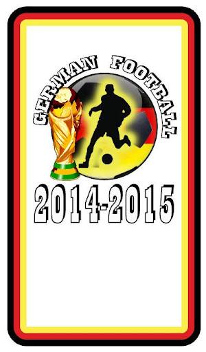 Deutsche Fußball 2014-2015
