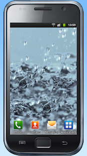 Water drops live wallpaper- screenshot thumbnail