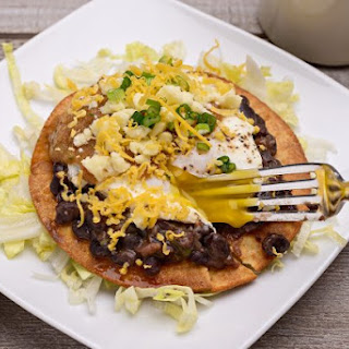 Breakfast Tostada.