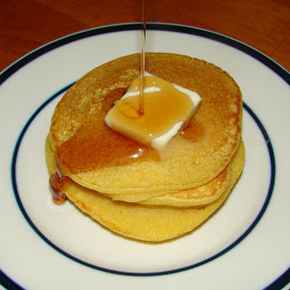 Johnny Cakes -- Early American Cornmeal Pancakes