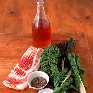 Winter Greens and Bacon